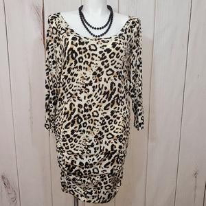 Torrid Dress Leopard Animal Print 2XL 2 Sexy NEW